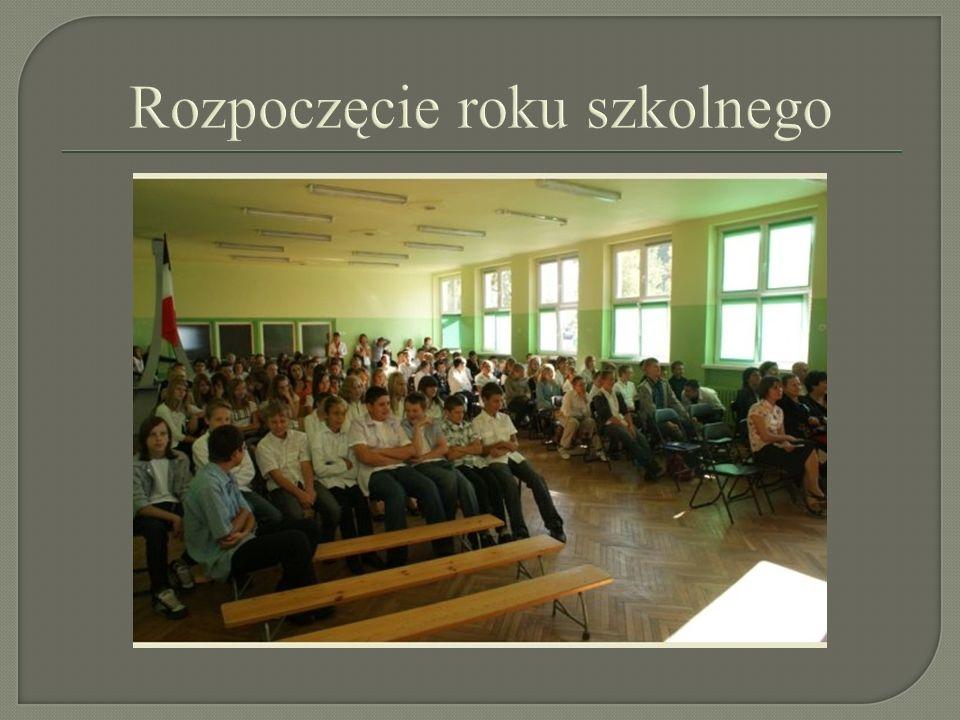 Pasowanie na ucznia gimnazjum