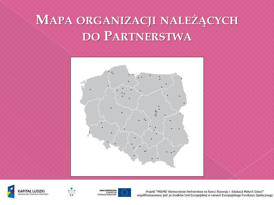 Aktualna liczba organizacji w PREMD 124 (Dane z 30 września 2013 roku)