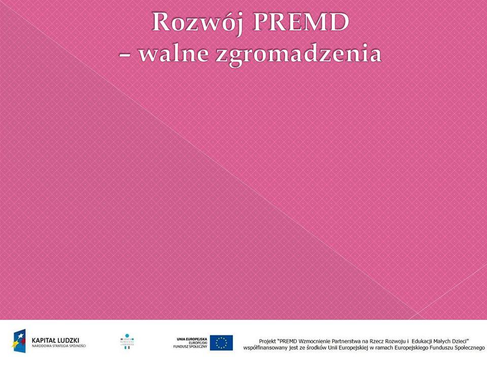 Dobre praktyki organizacji członkowskich Partnerstwa na Rzecz Rozwoju i Edukacji Małych Dzieci 38 organizacji prezentuje swoje działania