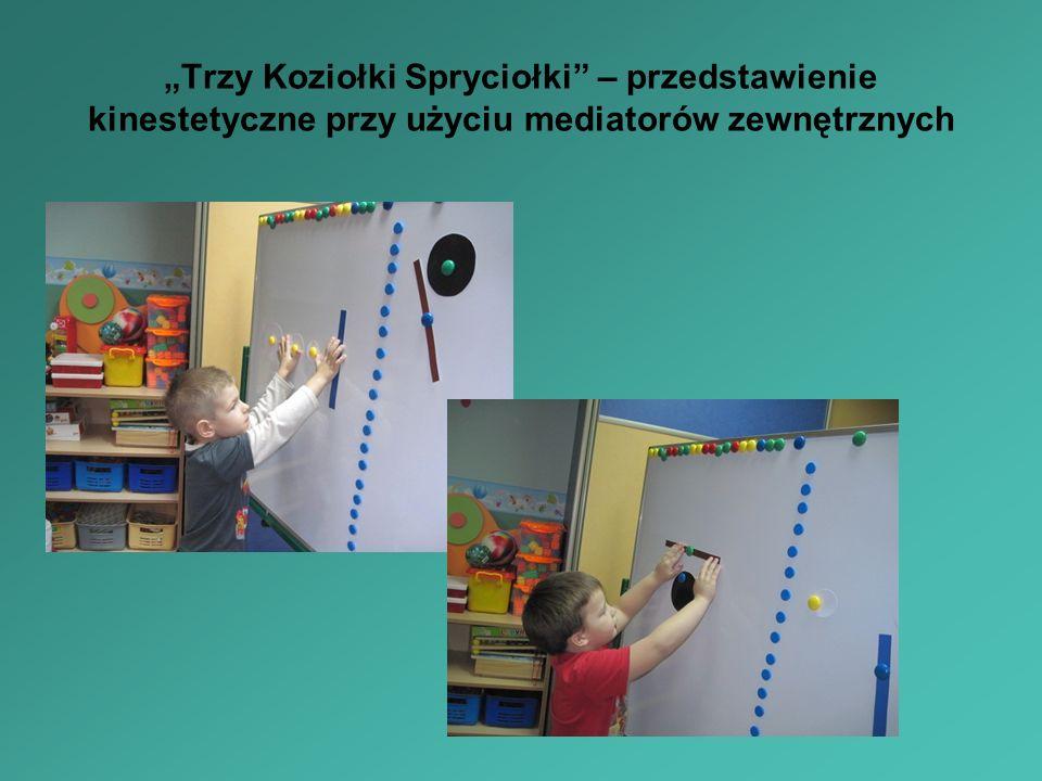 Trzy Koziołki Spryciołki – przedstawienie kinestetyczne przy użyciu mediatorów zewnętrznych