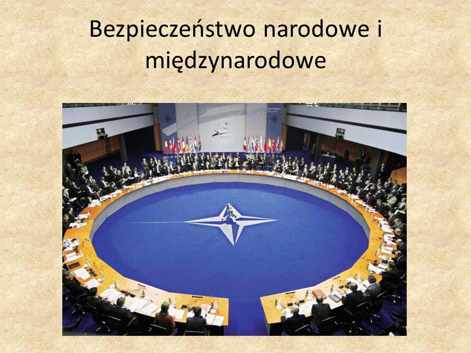 Bezpieczeństwo narodowe i międzynarodowe
