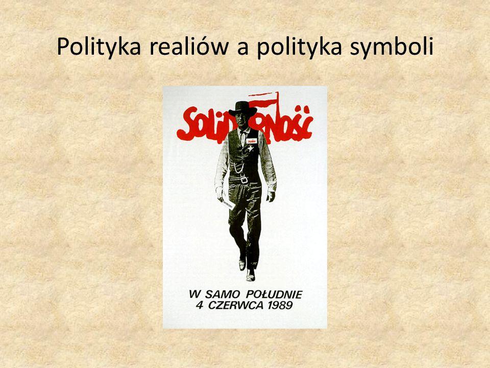 Polityka realiów a polityka symboli