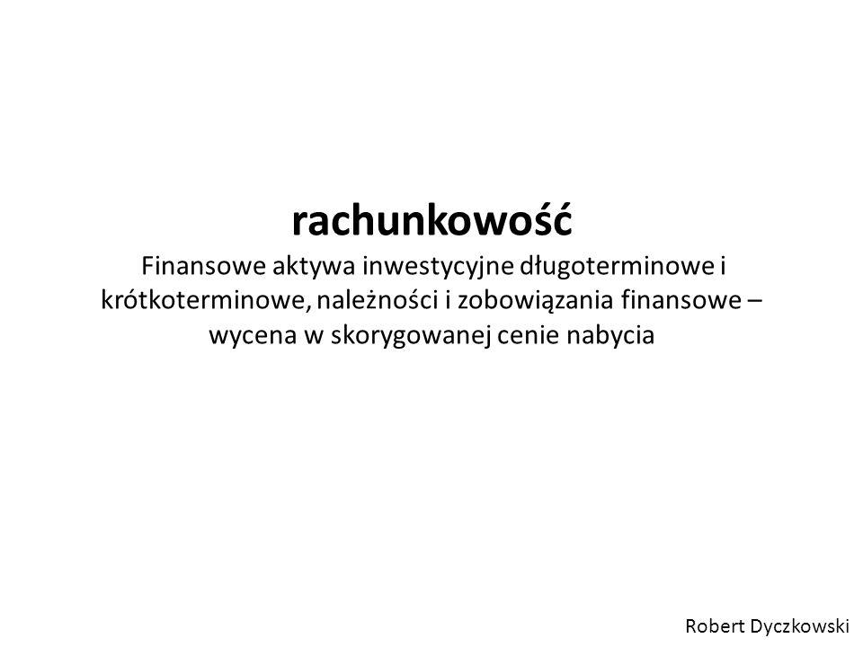 Aktywa inwestycyjne (Art.3 ust.