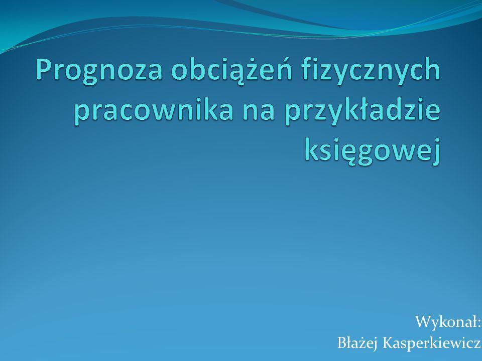 Wykonał: Błażej Kasperkiewicz
