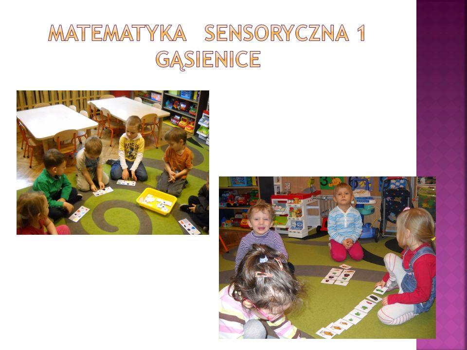 Podczas zajęć otwartych rodzice mogli zobaczyć jak ich dzieci pracują podczas modułu Matematyka Sensoryczna 1 – Gąsienice oraz Programu Literackiego.