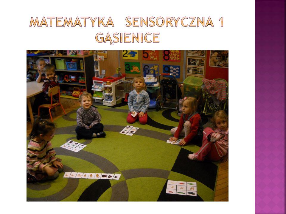 Dzieci z ciekawością i zainteresowaniem wykonywały zadania, większość z nich nie sprawiało im problemów.