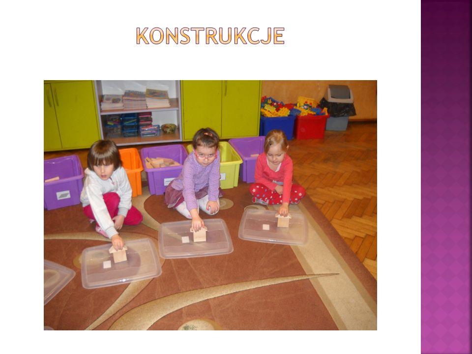 Największy problem stanowiło nazewnictwo klocków, które dla większości dzieci było nieznane.