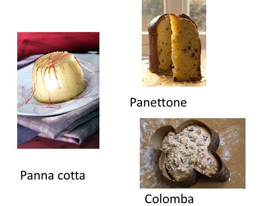 Panna cotta Panettone Colomba