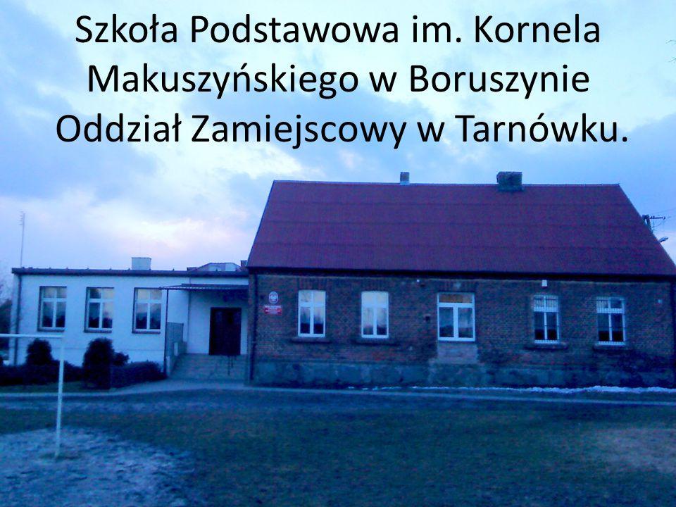 Szkoła Podstawowa im. Kornela Makuszyńskiego w Boruszynie Oddział Zamiejscowy w Tarnówku.