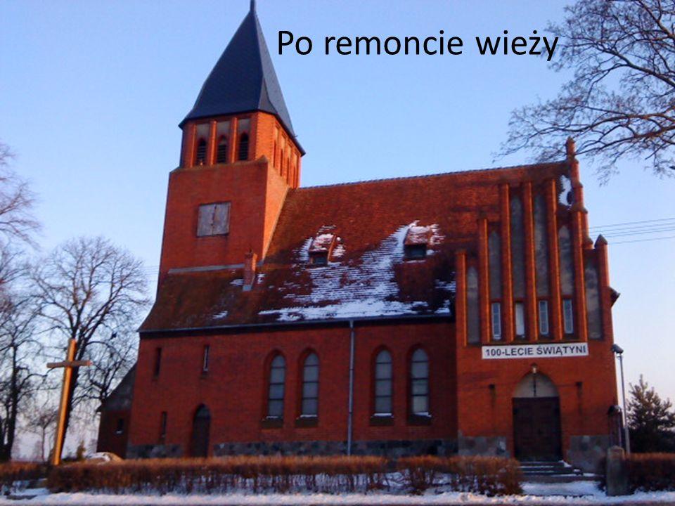 Po remoncie wieży