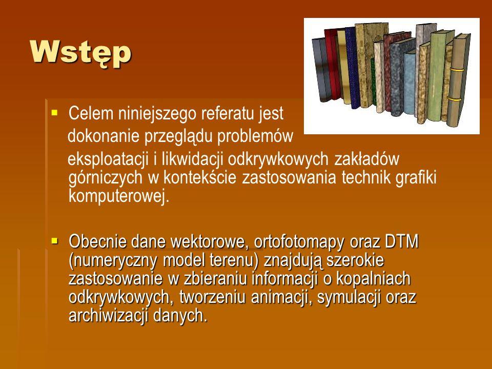 Wytyczne Sposób formowania docelowych ociosów wyrobiska, półek zabezpieczających i pochylni zjazdowych.