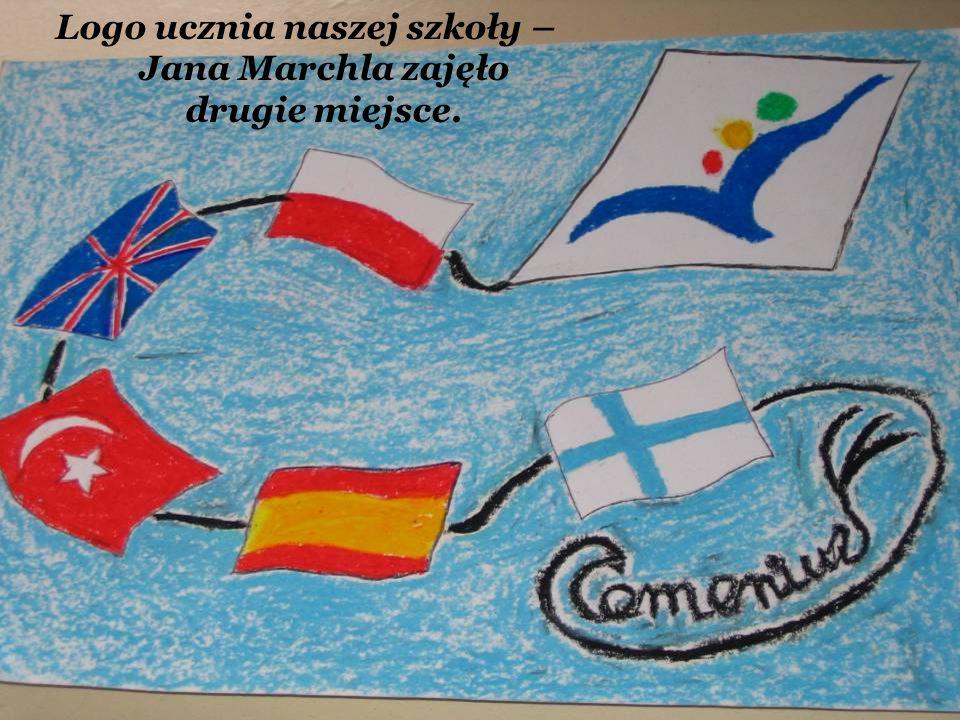 Logo ucznia naszej szkoły – Jana Marchla zajęło drugie miejsce.