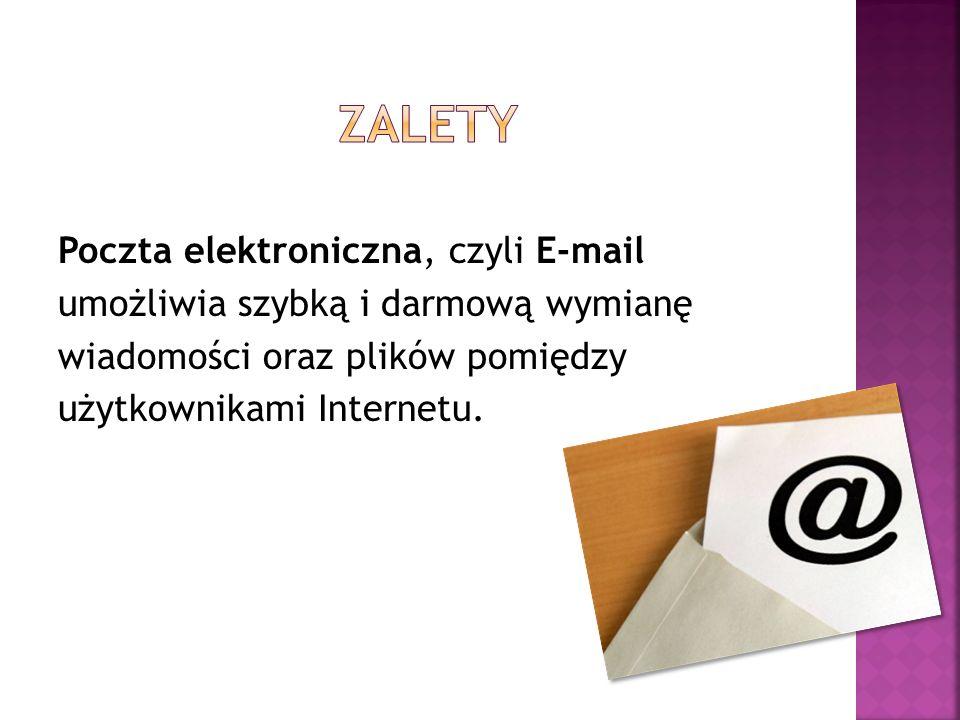 Włamania mogą zdarzyć się, gdy ktoś odgadnie lub wykradnie hasło do poczty internetowej lub komunikatora.