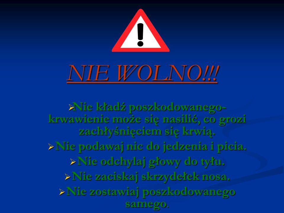 NIE WOLNO!!.