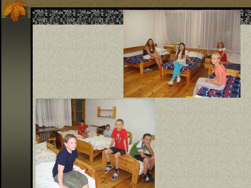 - pokoje 2-7 osobowe