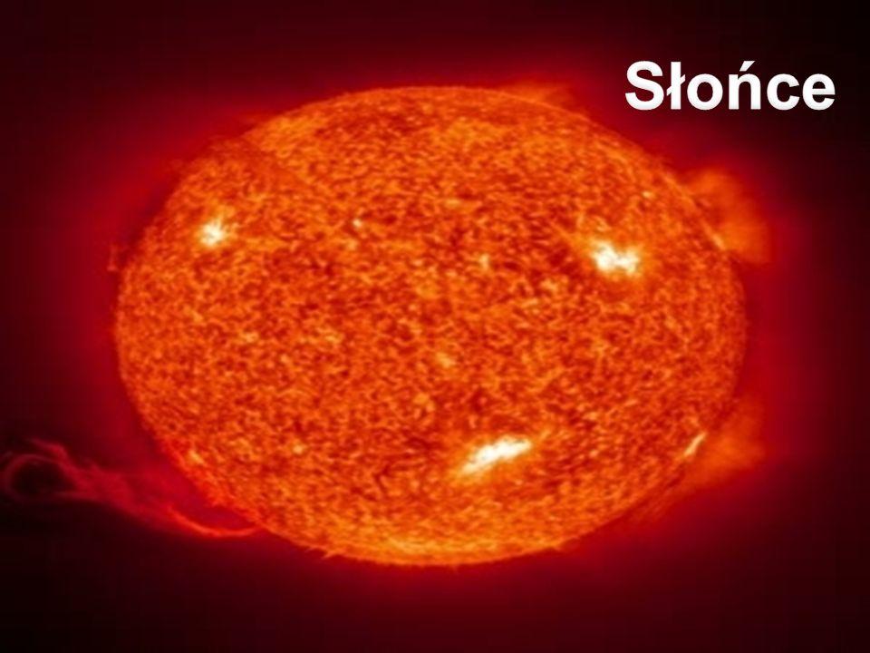 Słońce - płonące łuki gazu wybijające się z powierzchni gwiazdy.