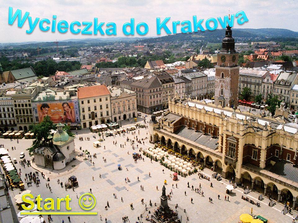 Hej jestem smoczek wawelski i oprowadzę was po Krakowie.