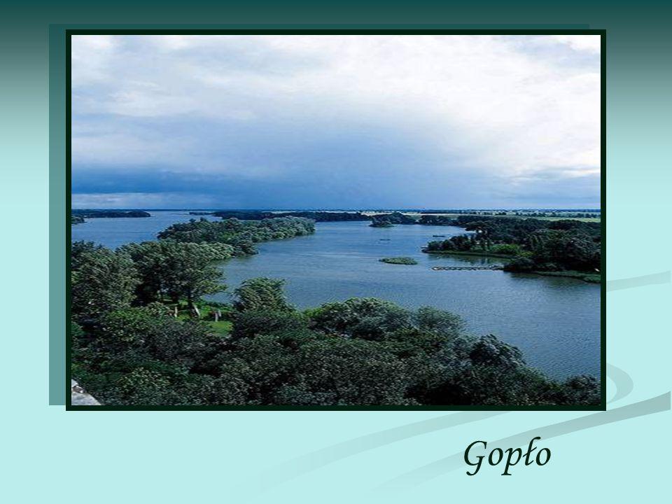 Gopło to jezioro położone niedaleko Inowrocławia na Pojezierzu Gnieźnieńskim, w województwie kujawsko-pomorskim.