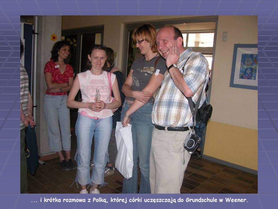 ... i krótka rozmowa z Polką, której córki uczęszczają do Grundschule w Weener.