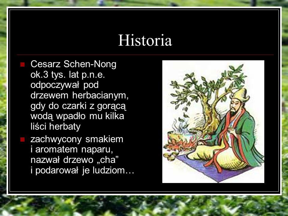 Historia Cesarz Schen-Nong ok.3 tys.lat p.n.e.