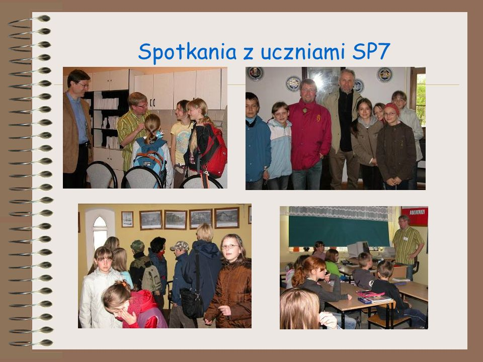 Spotkania z uczniami SP7