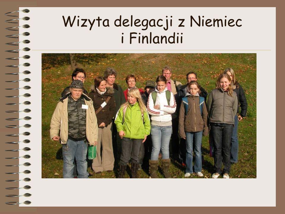 Wizyta delegacji z Niemiec i Finlandii