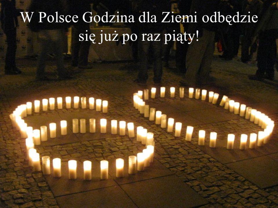 W Polsce Godzina dla Ziemi odbędzie się już po raz piąty!