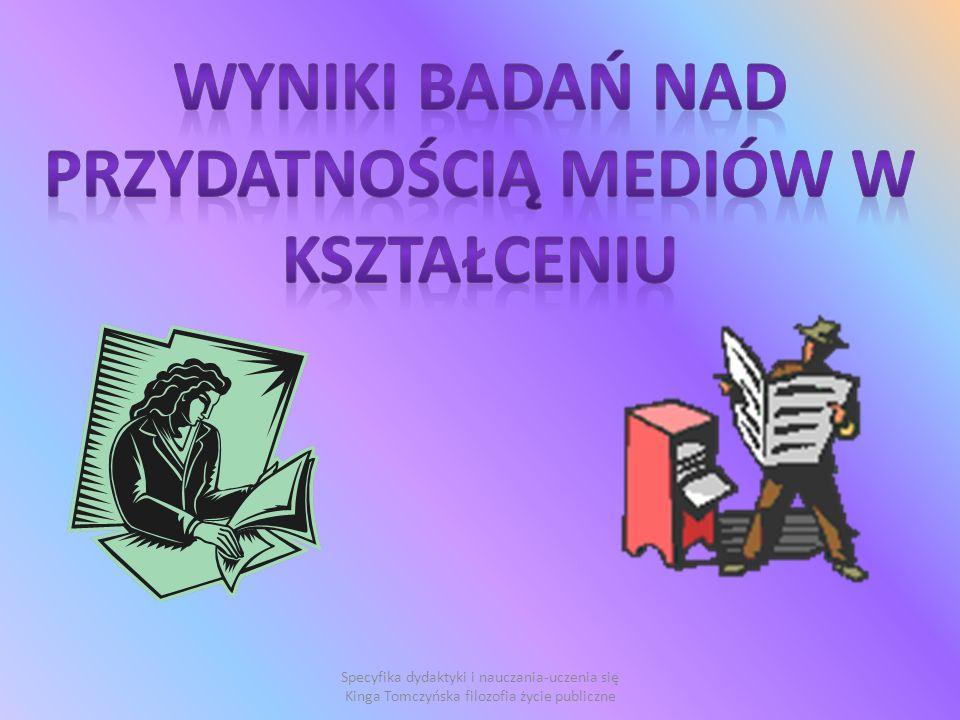 Specyfika dydaktyki i nauczania-uczenia się Kinga Tomczyńska filozofia życie publiczne