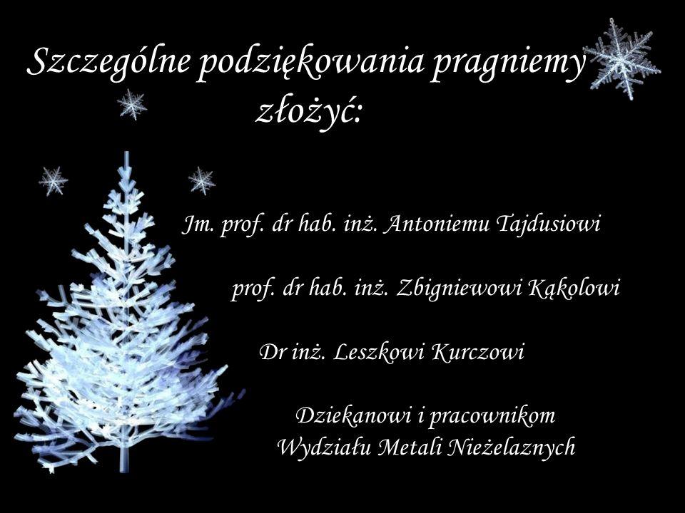 Jm. prof. dr hab. inż. Antoniemu Tajdusiowi prof.