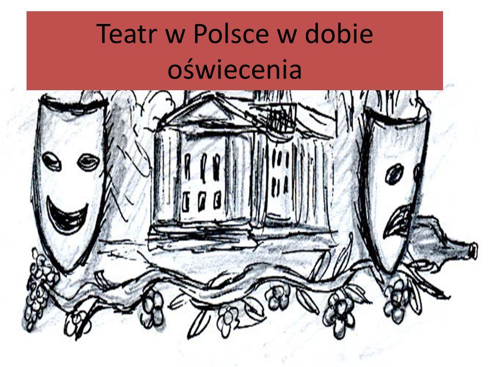 Kilka słów o epoce W Polsce idee oświecenia przyjęły się później niż w krajach Europy Zachodniej, co było związane z tym, że mieszczaństwo zyskało większe znaczenie dopiero w II poł.