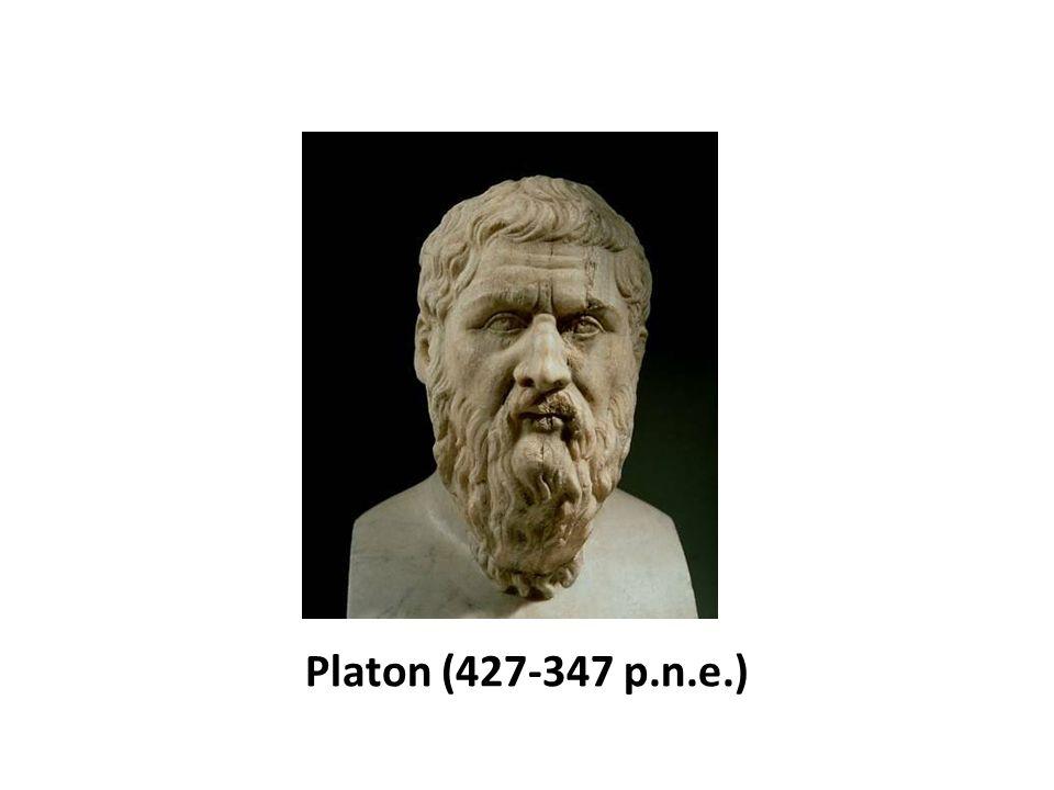 nawiązał do koncepcji człowieka Sokratesa - swego nauczyciela, której jądrem było utożsamienie natury człowieka z jego duszą (psyche) i uznanie, iż istotą i celem duszy jest rozumność, pozwalająca jej osiągnąć cnotę, czyli dzielność etyczną (areté).