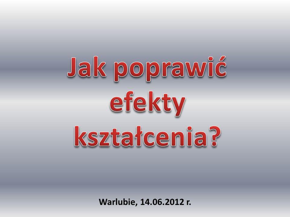 Wyniki egzaminów gimnazjalnych szkół powiatu świeckiego w roku 2011 w kontekście wyników kraju, województwa i innych powiatów przy uwzględnieniu wyników surowych, skali staninowej i edukacyjnej wartości dodanej EWD