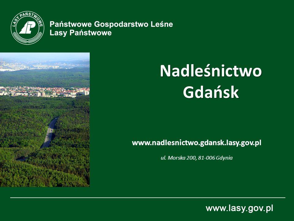 NadleśnictwoGdańsk www.nadlesnictwo.gdansk.lasy.gov.pl ul. Morska 200, 81-006 Gdynia