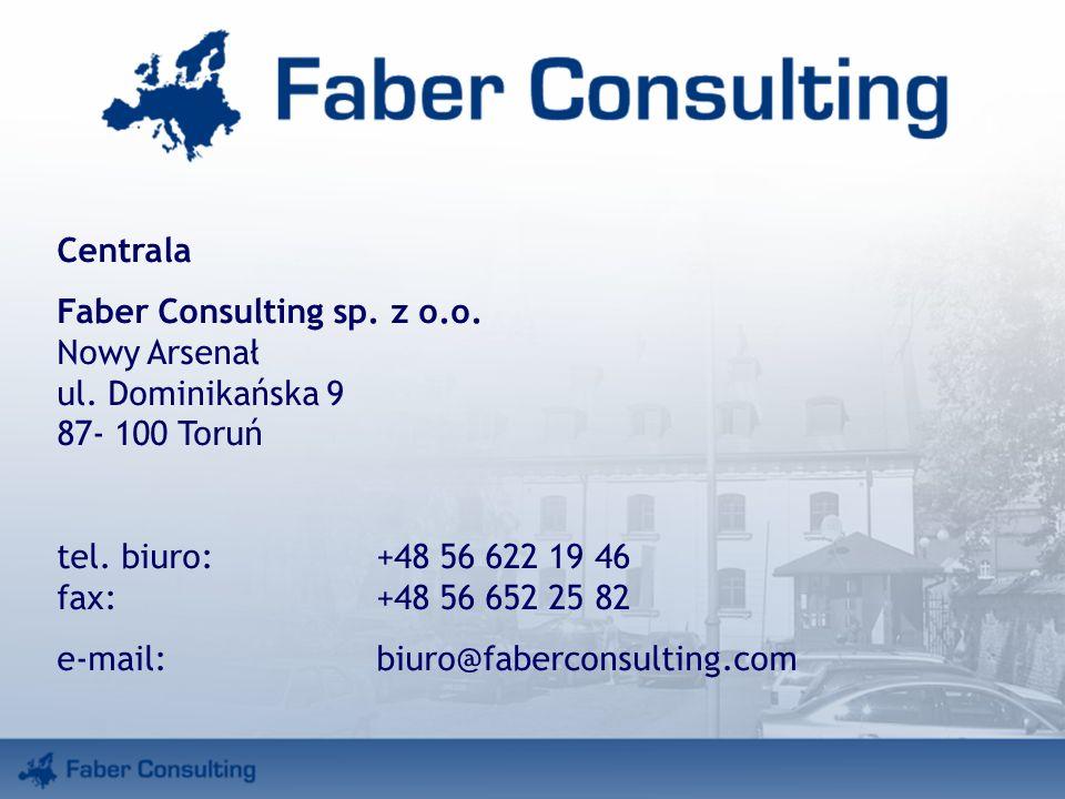 Centrala Faber Consulting sp. z o.o. Nowy Arsenał ul.