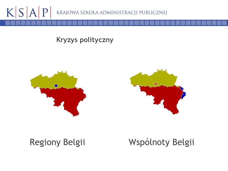 Kryzys polityczny Regiony Belgii Wspólnoty Belgii