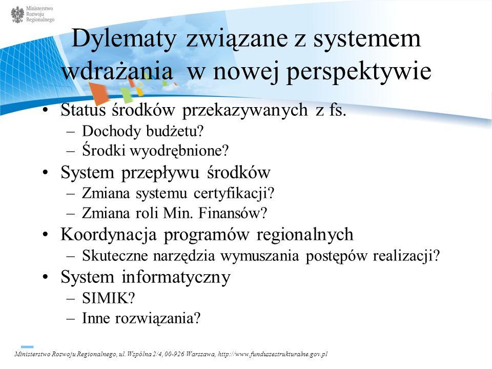 Ministerstwo Rozwoju Regionalnego, ul.