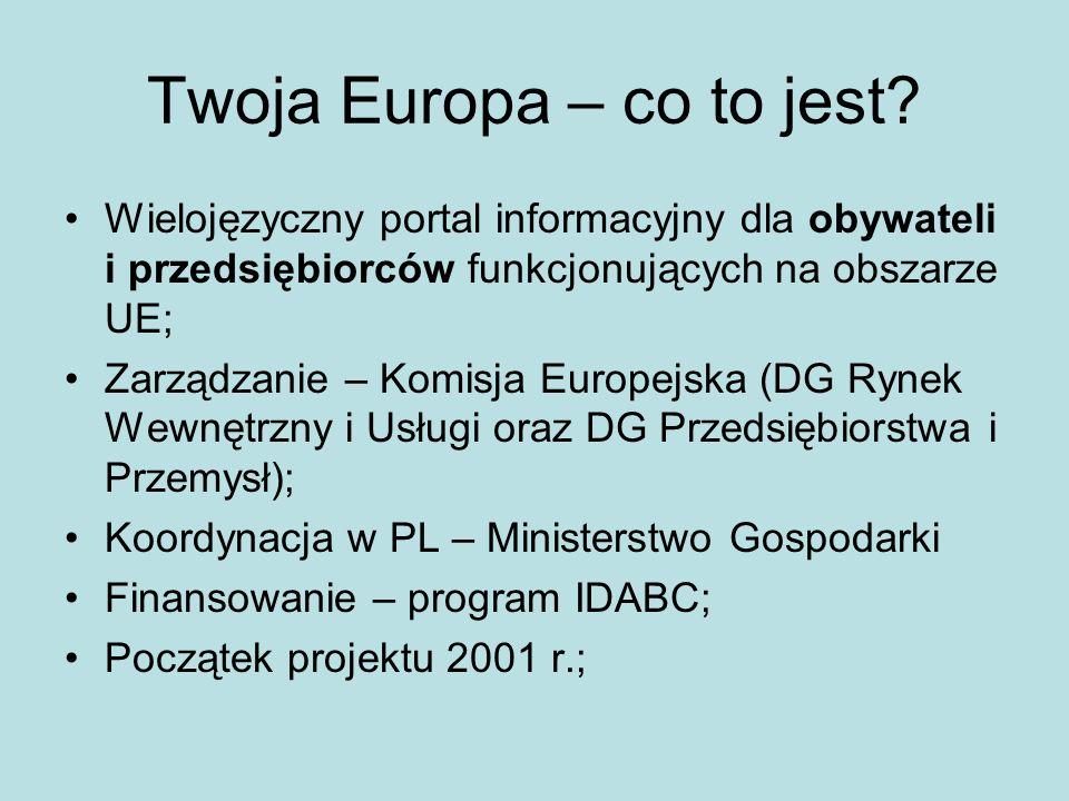 Twoja Europa – co to jest.