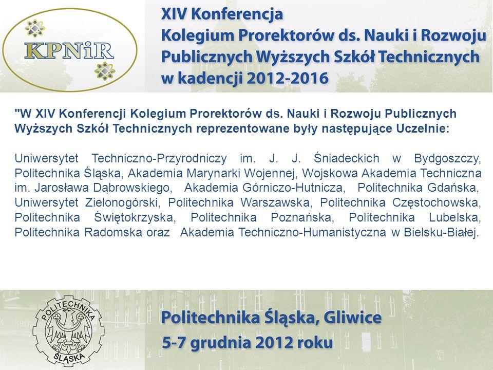 W XIV Konferencji Kolegium Prorektorów ds.