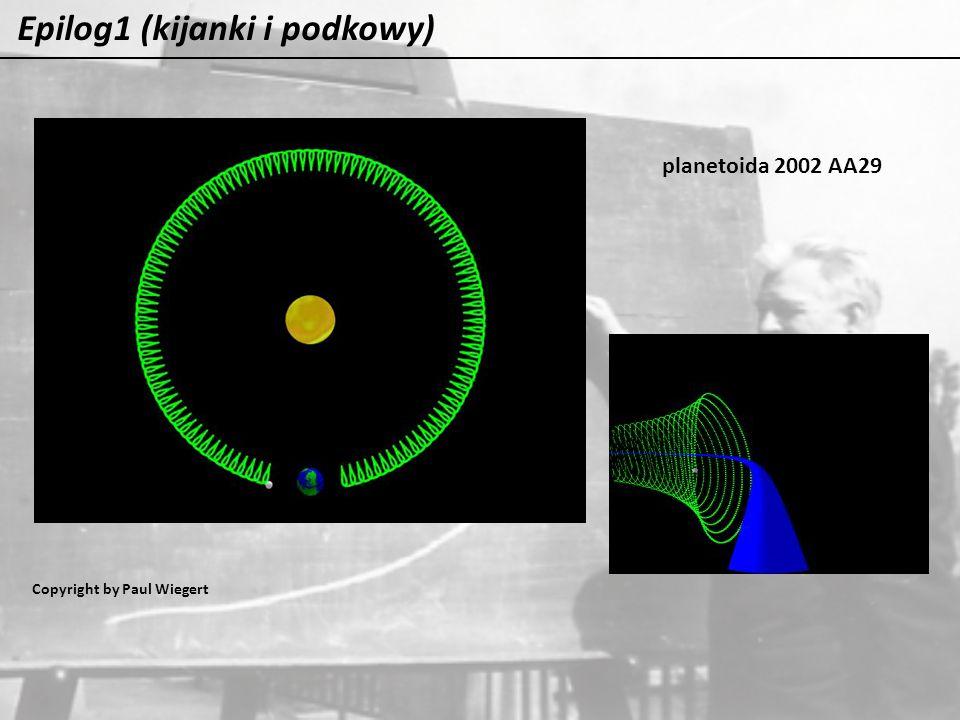 Epilog1 (kijanki i podkowy) planetoida 2002 AA29 Copyright by Paul Wiegert