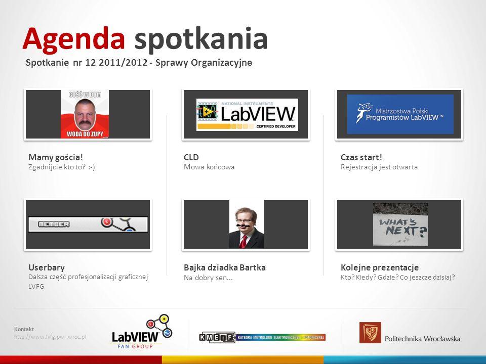 CLD - mowa końcowa Kontakt http://www.lvfg.pwr.wroc.pl Termin – 6.04.2012 (słownie: szósty kwietnia), piątek w godzinach 10-17, Miejsce – Politechnika Śląska, Nie piszemy tylko my, Własne komputery.