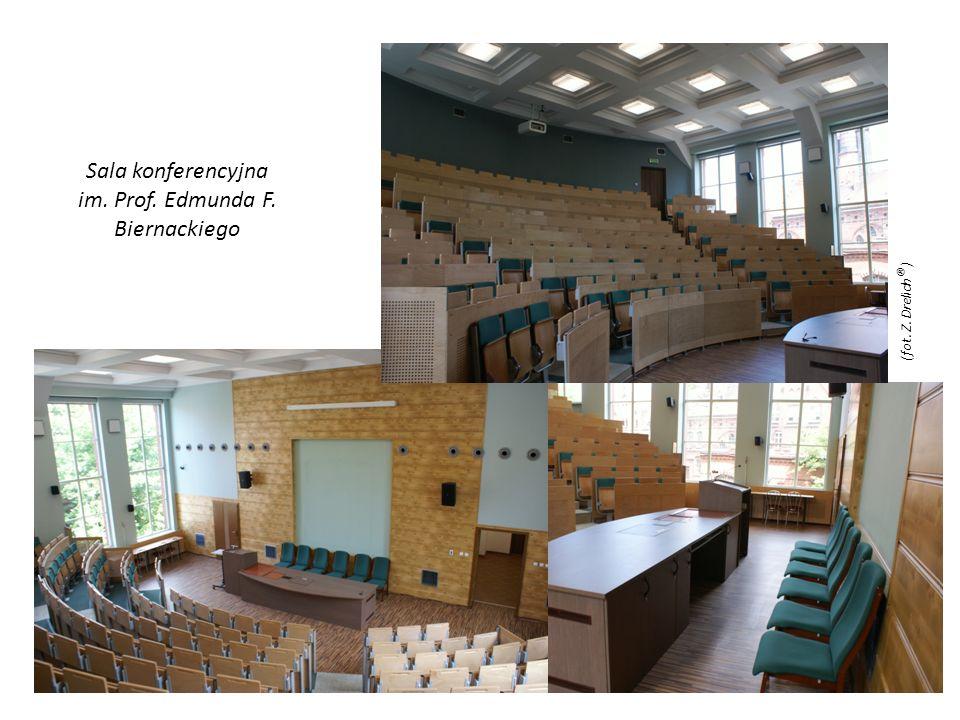 Sala konferencyjna im. Prof. Edmunda F. Biernackiego (fot. Z. Drelich ® )