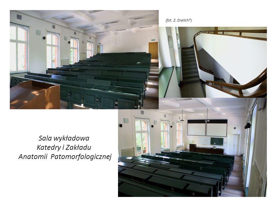 Sala wykładowa Katedry i Zakładu Anatomii Patomorfologicznej (fot. Z. Drelich®)