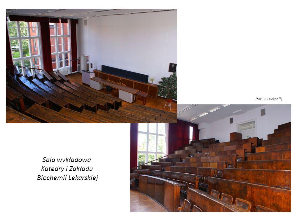 Sala wykładowa Katedry i Zakładu Biochemii Lekarskiej (fot. Z. Drelich ® )