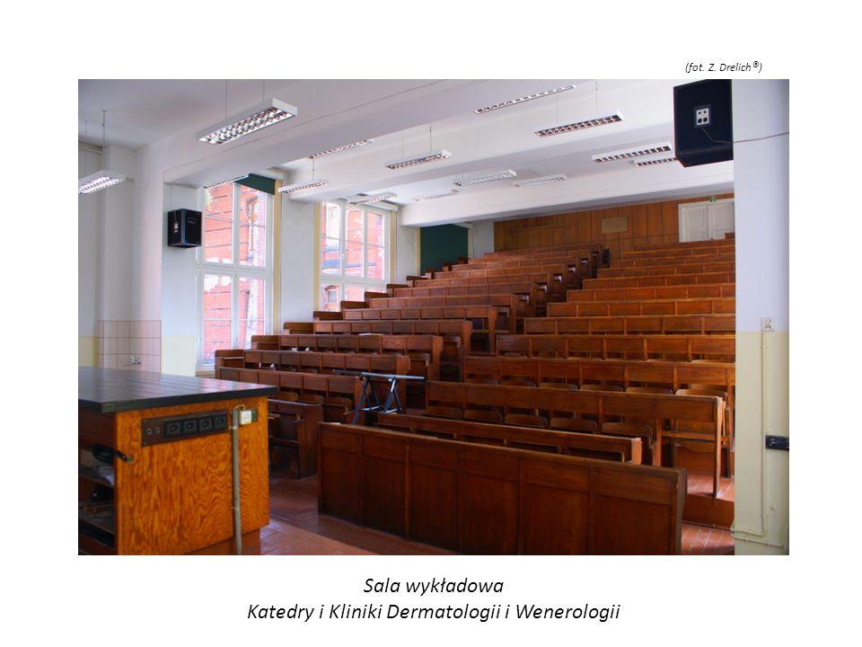 Sala wykładowa Katedry i Kliniki Dermatologii i Wenerologii (fot. Z. Drelich ® )