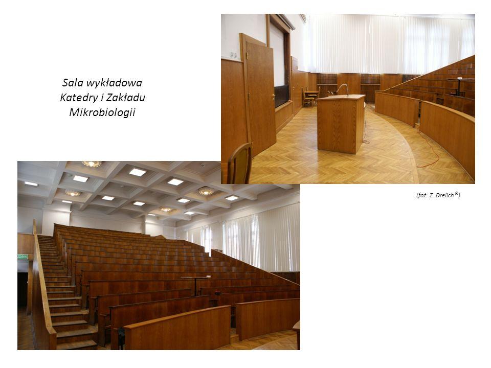 Sala wykładowa Katedry i Zakładu Mikrobiologii (fot. Z. Drelich ® )