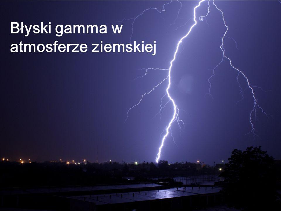 Błyski gamma w atmosferze ziemskiej