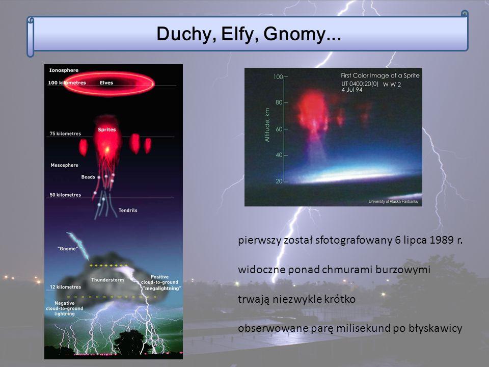 Duchy, Elfy, Gnomy... pierwszy został sfotografowany 6 lipca 1989 r.