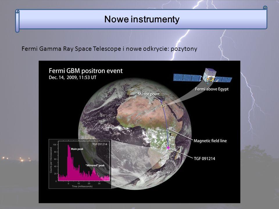 Nowe instrumenty Fermi Gamma Ray Space Telescope i nowe odkrycie: pozytony