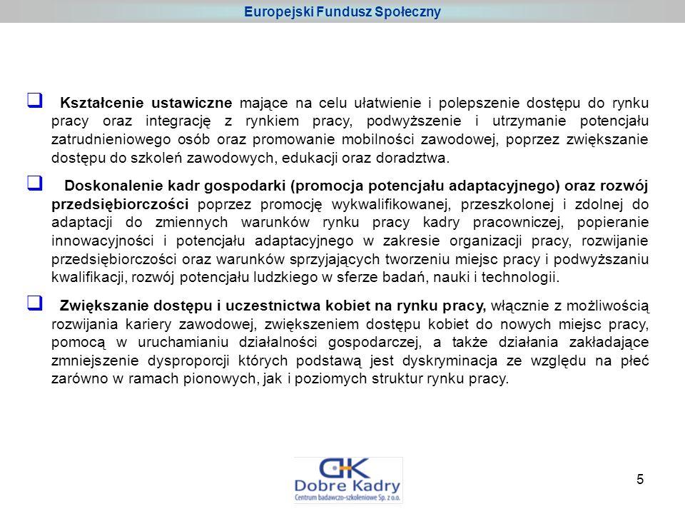 6 Europejski Fundusz Społeczny Podstawy programowe EFS w Polsce: lata 2004 - 2006 W latach 2004-2006 EFS przeznaczony był na realizację: Sektorowego Programu Operacyjnego Rozwój Zasobów Ludzkich (SPO RZL) – program centralny drugiego priorytetu Zintegrowanego Programu Operacyjnego Rozwoju Regionalnego (ZPORR) – program regionalny Inicjatywy Wspólnotowej EQUAL – program ponadnarodowy Projekty w ramach pierwszego okresu programowania mogą być realizowane do 30 czerwca 2008 r.