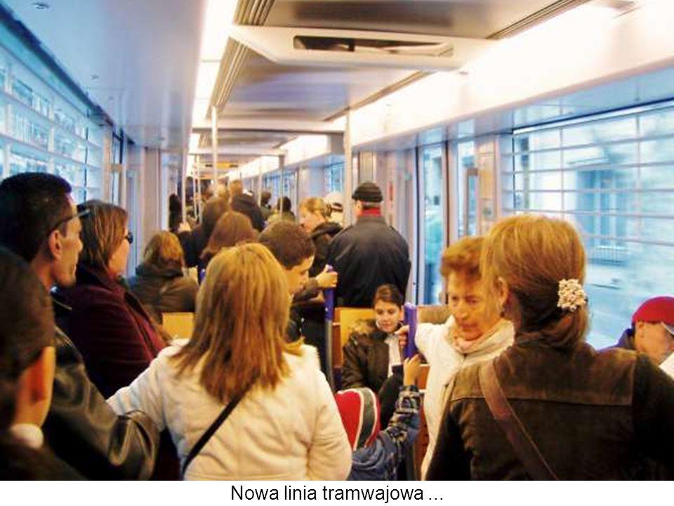 Nowa linia tramwajowa...